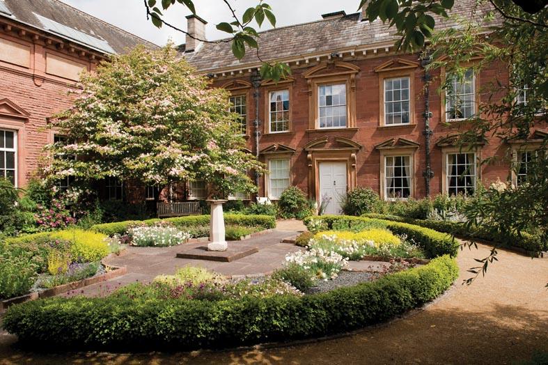 Tullie House garden, Carlisle